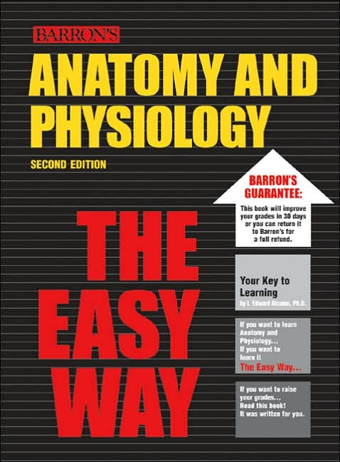 Anatomy and Physiology the Easy Way by Barbara Krumhardt image