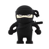 16GB Bone Collection USB Flash Drive - Ninja Black