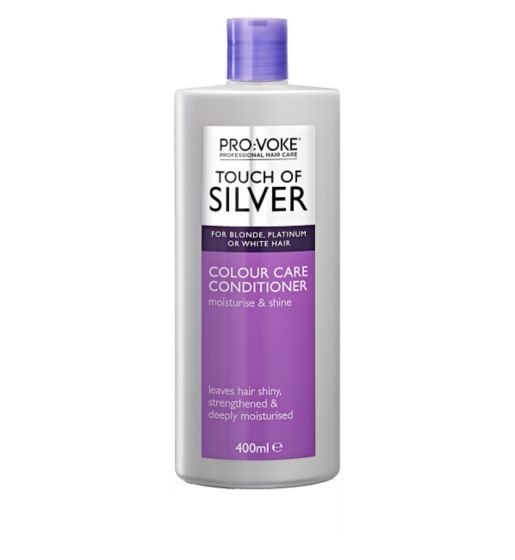 Provoke Touch of Silver Colour Care Conditioner (400ml)