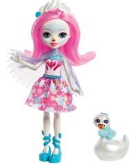 "Enchantimals: Saffi Swan - 6"" Basic Doll"