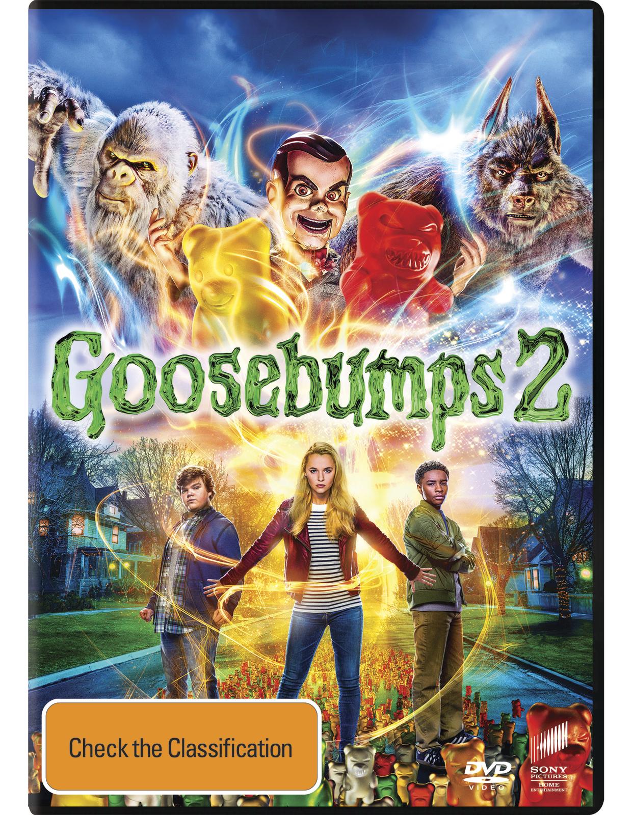 Goosebumps 2: Haunted Halloween on DVD image
