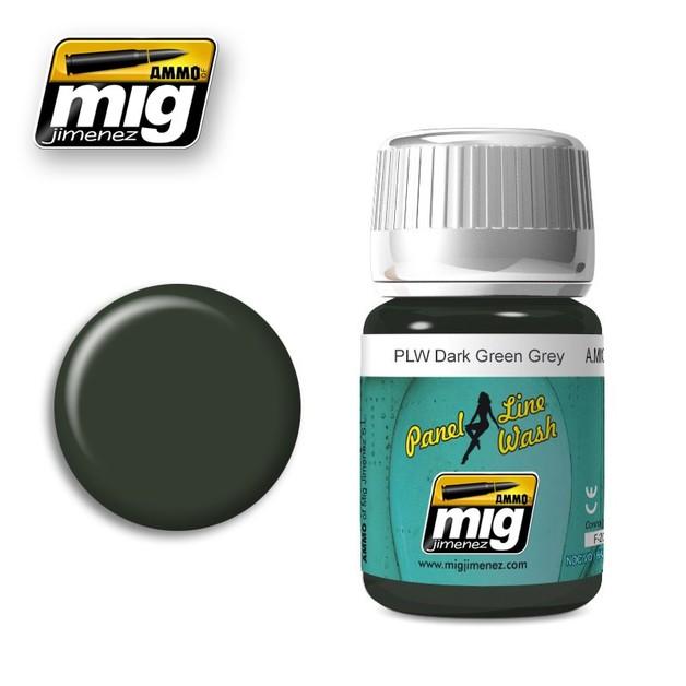Ammo of Mig Jimenez Dark Green Grey (35ml)