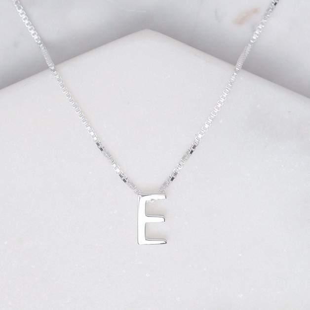 Midsummer Star: Alphabet Necklace - E