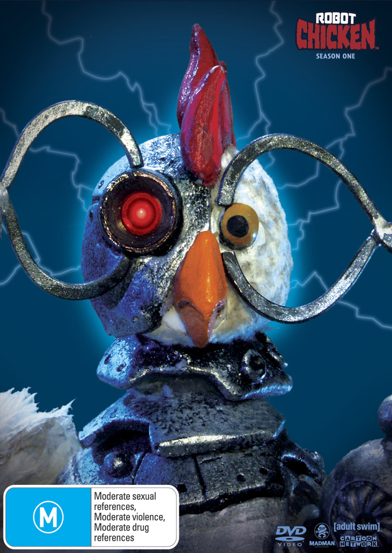 Robot Chicken - Season 1 on DVD image