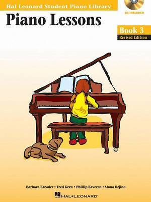 Piano Lessons, Book 3 by Barbara Kreader