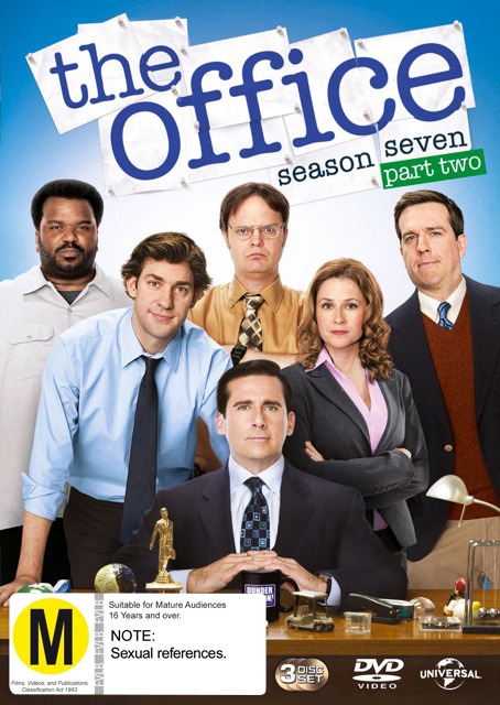 The Office (US) Season 7 Part 2 on DVD