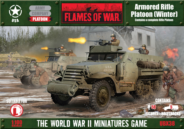 Flames of War - Armored Rifle Platoon (Winter)