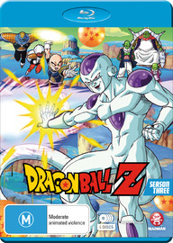 Dragon Ball Z - Season 3 on Blu-ray