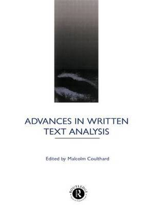 Advances in Written Text Analysis image