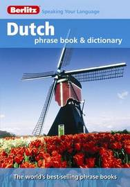 Berlitz: Dutch Phrase Book & Dictionary image