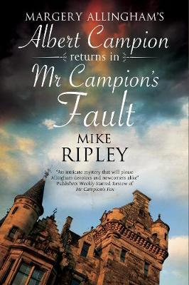 Mr Campion's Fault by Mike Ripley image