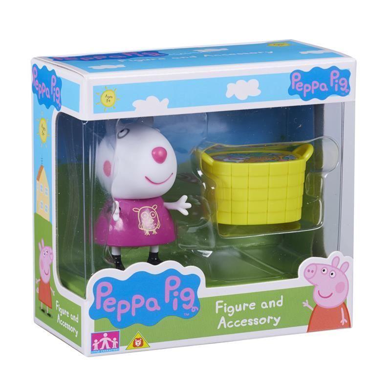 Peppa Pig: Figure and Accessory Pack - Suzie Sheep & Basket image