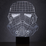 Star Wars: Original Stormtrooper Wireframe Light