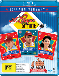 A League of Their Own (25th Anniversary Edition) on Blu-ray