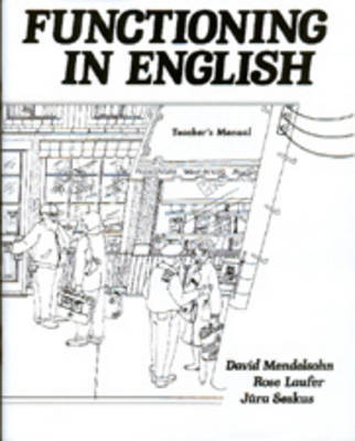 Functioning in English: Teacher's Manual by David Mendelsohn image