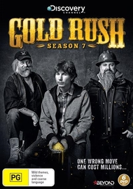 Gold Rush - Season 7 on DVD