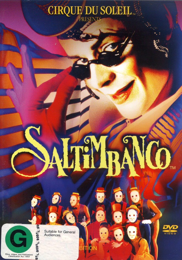 Cirque Du Soleil - Saltimbanco on DVD image