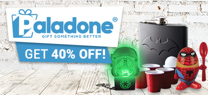 40% OFF Paladone Gifts!