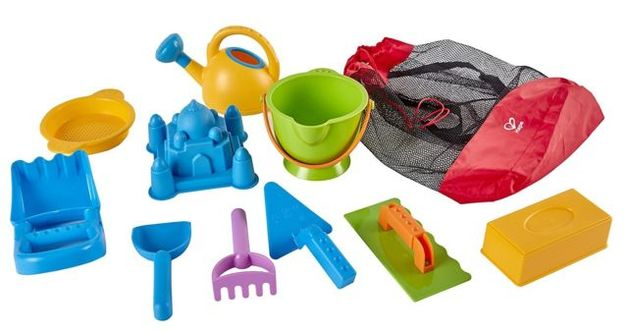 Hape: Ancient Taj Mahal Sand Bag Set