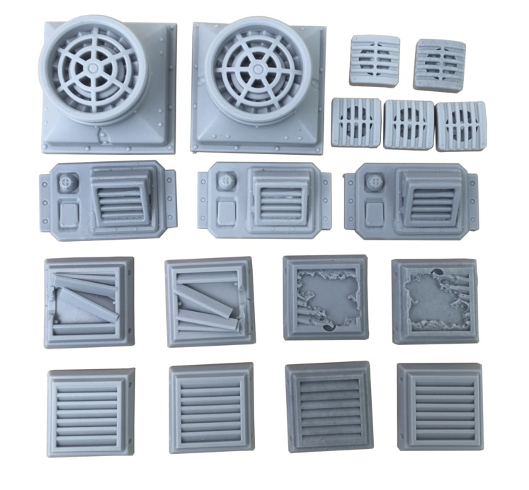 TTCombat: Tabletop Scenics - Ventilation Set image