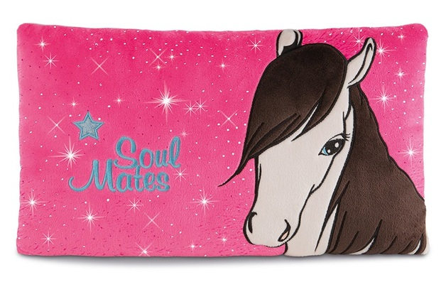 Nici: Horse Ayeta - Plush Cushion (43 x 25cm)