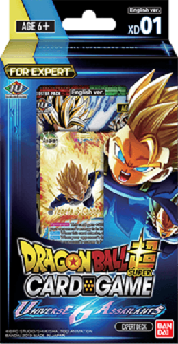 Dragon Ball Super TCG: Series 7 Expert Deck - Universe 6 Assailants image