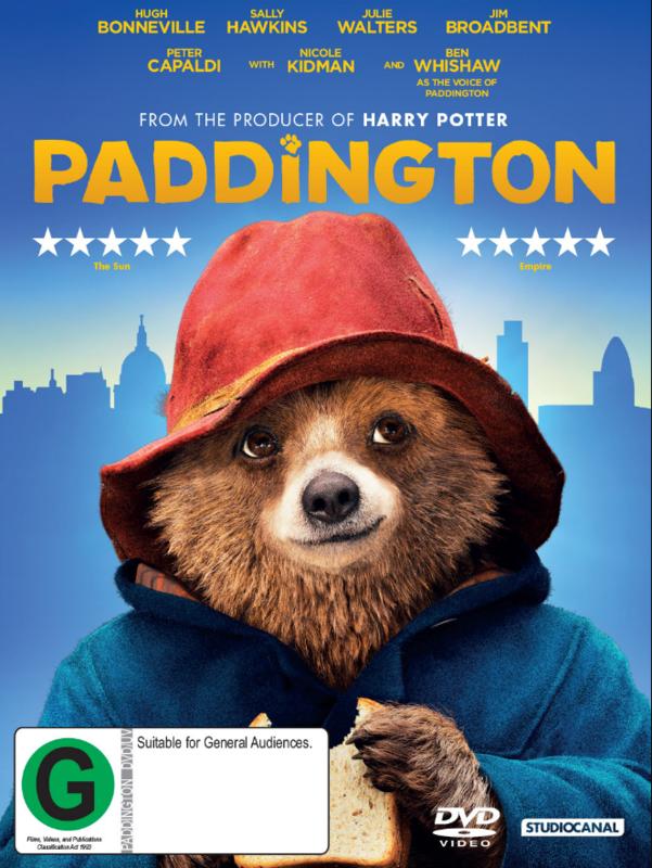 Paddington on DVD