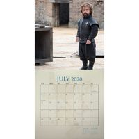 Game of Thrones 2019-2020 17-Month Square Wall Calendar image