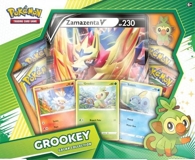 Pokemon TCG: Grookey Zamazenta V