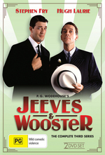 Jeeves & Wooster - The Complete 3rd Series (2 Disc Set) on DVD