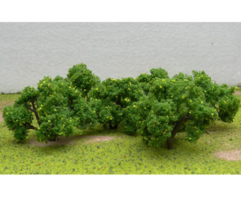 "JTT Scenic Lemon Tree Grove 2""-2.25"" (6 pk) - H0 Scale image"