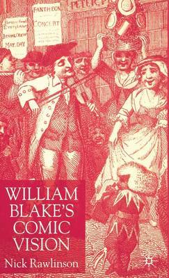 William Blake's Comic Vision by Nicholas Rawlinson image