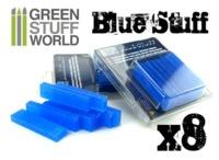 Green Stuff World - Blue Stuff Mold Bar - 8-Pack