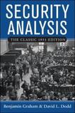 Security Analysis: The Classic 1951 Edition by Benjamin Graham