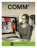 Comm (with Comm Online, 1 Term (6 Months) Printed Access Card) by Rudolph F Verderber