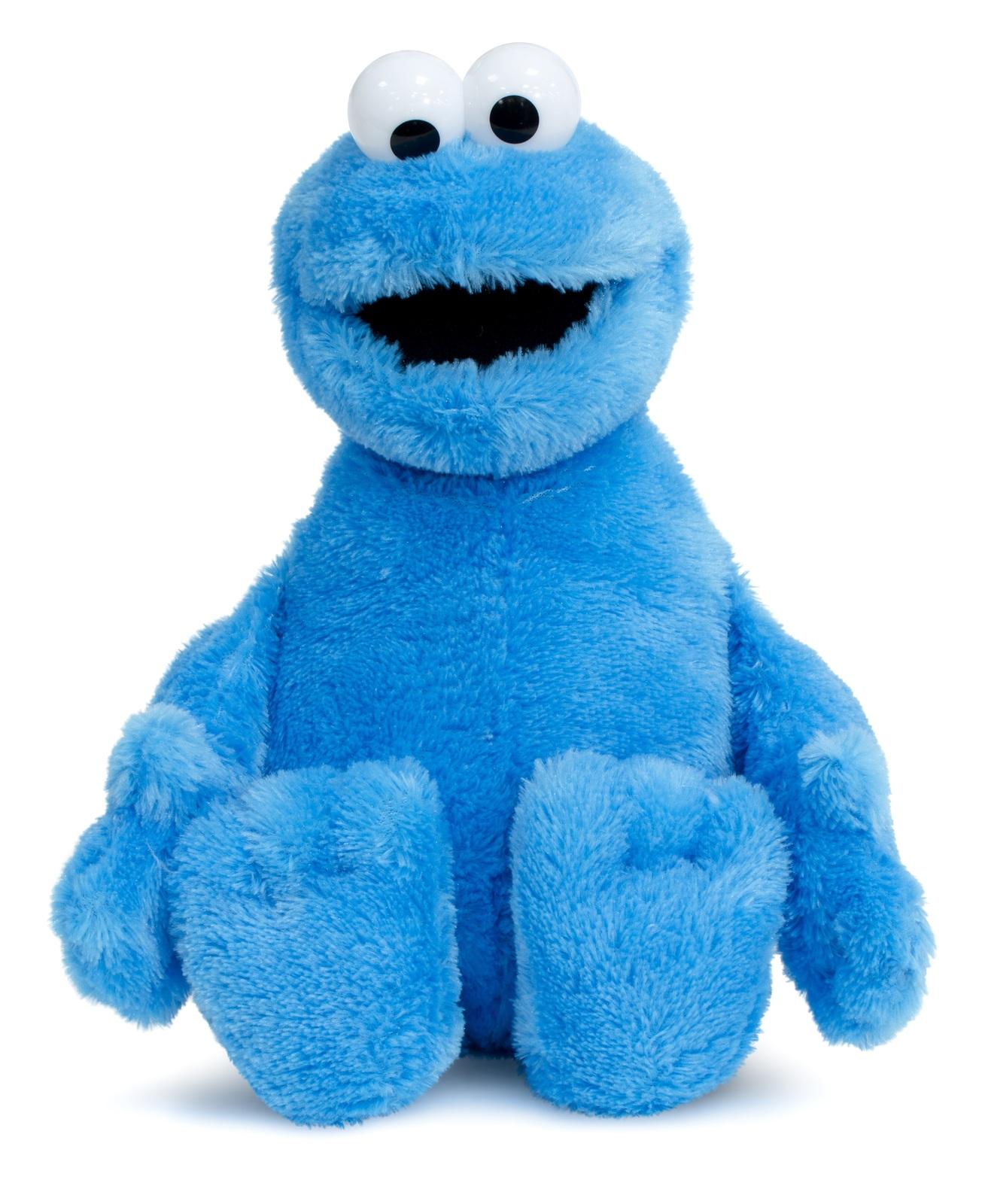 Sesame Street: Cookie Monster - Basic Plush (50cm) image
