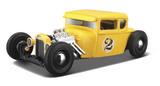 Maisto Design: 1:24 Diecast Vehicle - Yellow Hotrod