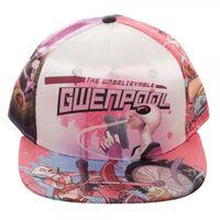 Marvel: Gwenpool Sublimated - Snapback Cap image