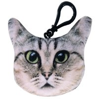 Plush Kitty Keychain with Sound