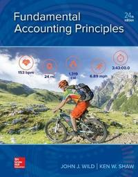 Loose Leaf for Fundamental Accounting Principles by John J Wild