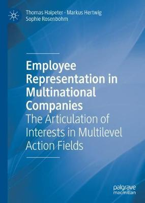 Employee Representation in Multinational Companies by Thomas Haipeter image