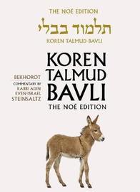 Koren Talmud Bavli: v. 39 by Adin Steinsaltz