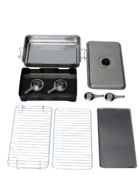 Premium Portable Stainless Steel Cooker & Smoker image
