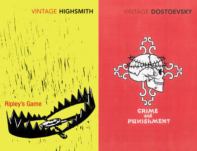 "Vintage Crime: ""Crime and Punishment"", ""Ripley's Game"" by F.M. Dostoevsky image"