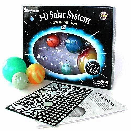 3d Solar System Glow In Dark Toy At Mighty Ape Nz