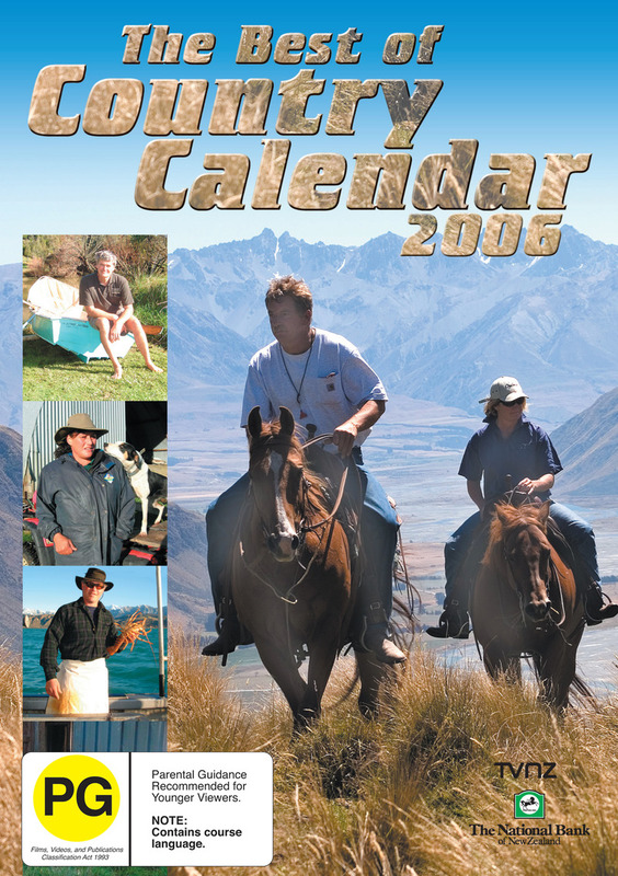 The Best of Country Calendar 2006 on DVD