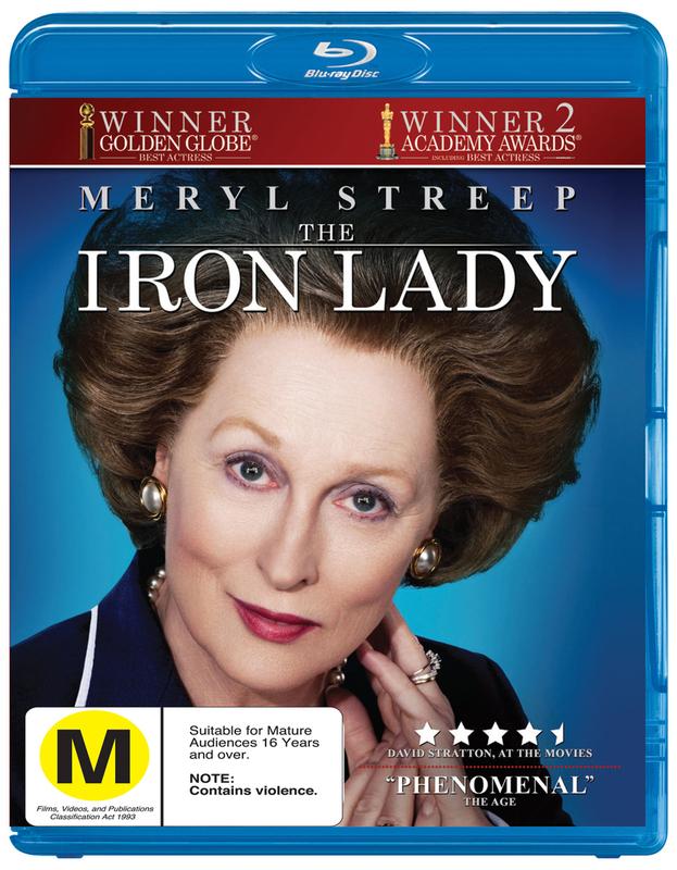 The Iron Lady on Blu-ray
