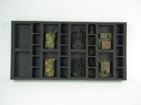 Battle Foam: Flames of War - 8 Artillery 20 Support Foam Tray (F03BFM-1.5)