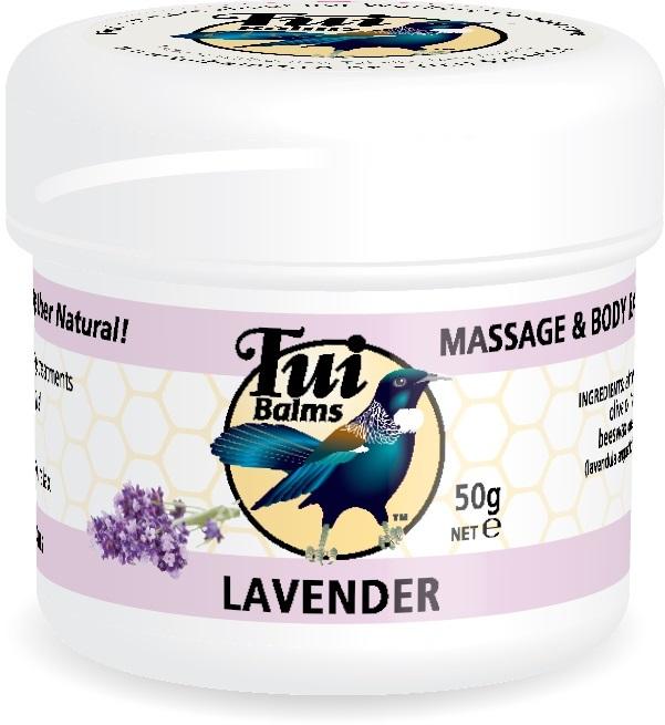 Tui Massage & Body Balm - Lavender (50g)