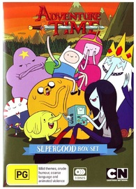 Adventure Time Supergood Box Set on DVD